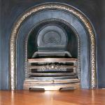 Close-up of Fireplace Restoration